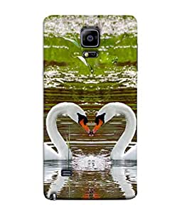 PrintVisa Designer Back Case Cover for Samsung Galaxy Note Edge :: Samsung Galaxy Note Edge N915Fy N915A N915T N915K/N915L/N915S N915G N915D (Background Reflection Romantics Tranquil Elegance Graceful Beautiful Peaceful)
