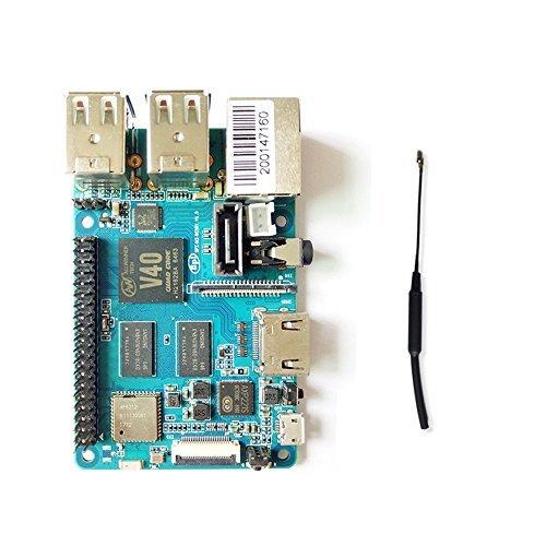 Banana Pi BPI M2Berry Dual Core Mali 400MP2GPU 1G LPDDR3Open-Source-Entwicklung board, gleiche Größe wie Raspberry Pi 3 (Open-tv-antenne)