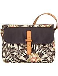 Oilily - S Shoulder Bag, Bolsos bandolera Mujer, Grau (Charcoal), 5x20x26 cm (B x H T)