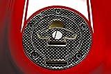 Protection Bouchon Réservoir à Carburant Adhésifs Résine 3D Carbone Moto Ducati