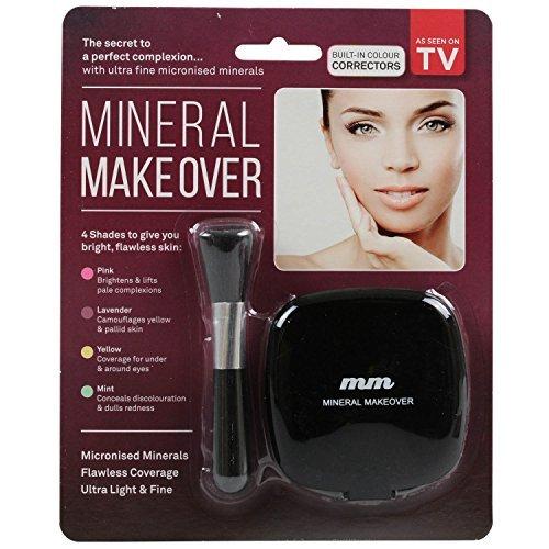 Beauty Co Innovations Mineral Make Over Face Make-Up Foundation Concealer Powder
