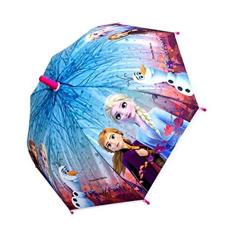 Factorycr frozen ombrello classico 66 centimeterss rosa y violeta