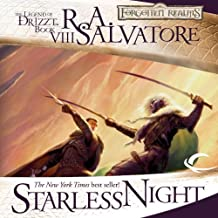 Starless Night: Legend of Drizzt: Legacy of the Drow, Book 2