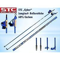 STC Cyber 60% Carbon Langlauf Skating Roller Stöcke