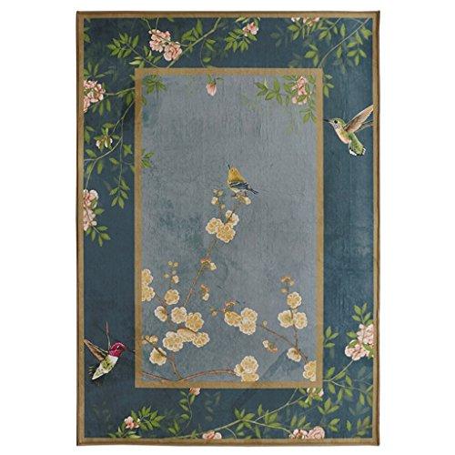yang baby tappeto cinese soggiorno moderno minimalista in stile cinese giardino art studio tappeto camera da letto comodino tavolino coperta, dimensioni: 120 * 160 cm
