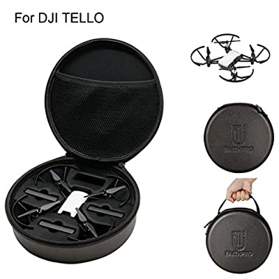 Carrying Bag/Carrying Case for DJI Tello Drone,Y56 Outdoor Waterproof Shockproof Portable Bag Body/Battery Handbag Carrying Bag Case Suitcase Protector For DJI Tello Drone, 22 x 22 x 7.5cm by 5656YAO