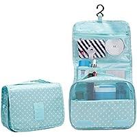 Comparador de precios Kaxima bolsa de almacenamiento de viaje, bolsa de lavado vinculado, colgando bolsa de almacenamiento, bolsa de cosméticos, plegado, terminando bolsa, 24x19x9cm - precios baratos