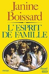 L'Esprit de famille (Littérature Française)
