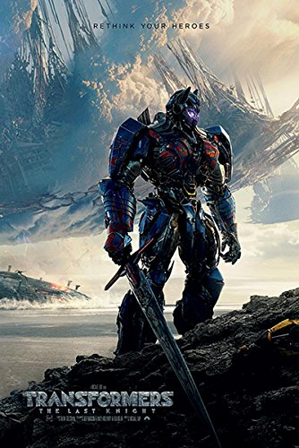 Close Up Transformers The Last Knight Poster Rethink Your Heroes (61cm x 91,5cm)