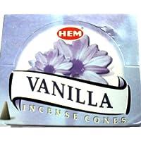 Räucherkegel HEM Vanille VANILLA 12 x 10 Stück preisvergleich bei billige-tabletten.eu