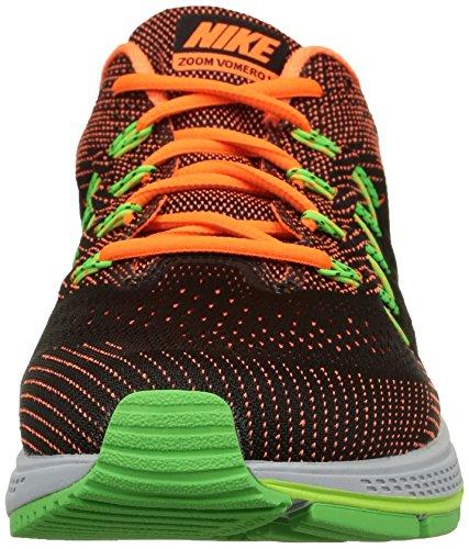 Nike Air Zoom Vomero 10, Scarpe da Ginnastica Uomo Ttl Orng/Blk-Ghst Grn-Vltg Grn