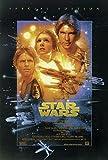 Star wars 4 la guerre des étoiles Poster 68X98 cm roulé - Affiche Sonis