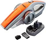 VonHaus 7.2V Rechargeable Portable Handheld Vacuum Cleaner with Dust Brush, Crevice Tool and Charging Station -
