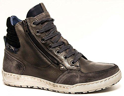 Sneaker alte in pelle Cafè Noir art.QL102
