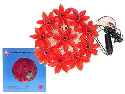 Preisvergleich Produktbild All Ride Weihnachtskranz mit Licht, rot 20 cm 24V