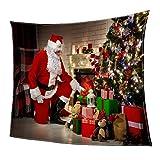 MagiDeal Coperta di Natale Doppio Pile con Stile Natale Stampa Morbido Divano Decorativo Blanket Biancheria da letto - #16