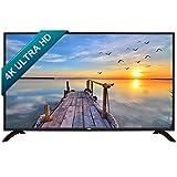 HKC 50B9A 50 Zoll (127 cm), 4K Ultra HD, Smart LED TV (Triple Tuner, DVB-T2 / S2/ T/S/C, CI+,H.265 HEVC) Schwarz, Energieeffizienzklasse A