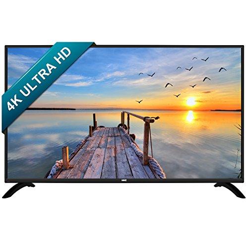 HKC 50B9A 50 Zoll (127 cm), 4K Ultra HD, Smart LED TV (TRIPLE TUNER, DVB-T2 / S2/ T/ S/C, CI+,H.265 HEVC) Schwarz, Energieeffizienzklasse A
