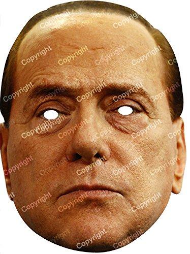 Maschere di personaggi famosi ideali per feste scherzi spettacoli carnevale