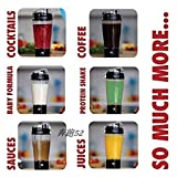 Kelexx Electric Protein Shaker Blender Automatic Movement Shaker Transparent Mixer Cup