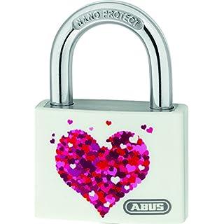 ABUS T65AL/40 My Love Heart/Beach Aluminium Padlock Assorted models