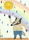 Notizbuch Wolf: herzensart für Little Tiger