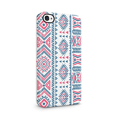 Triangles Mosaic Boho Galaxy Colorful Pattern Apple iPhone 5C Snap-On Hard Plastic Protective Shell Case Cover Custodia Black Mosaic