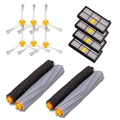 Accessories Kit, Keepwin Parte di ricambio per iRobot Roomba 800/900 series 870 880 980 Vacuum Cleaning Robots Serie Aspirapolvere, Accessories Kit Compatibile per iRobot aspirapolvere