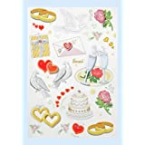 Creapop Sticker * Hochzeit I * Aufkleber