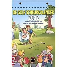 De golf scheurkalender 2012