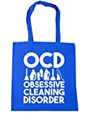 HippoWarehouse OCD Obsessive Cleaning Disorder Tote Shopping Gym Beach Bag 42cm x38cm, 10 litres