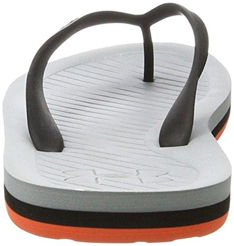 Under Armour Ua M Atlanticdune T, Chaussures de Plage et Piscine Homme Orange (Gray Wolf 036)