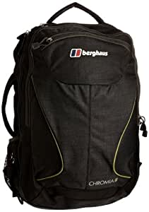 Berghaus Chromia 30 Rucksack/Travel Bag - Black/Lichen Green