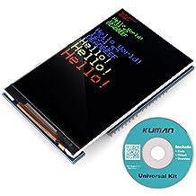 Kuman UNO R3 3.5 inch TFT Pantalla con Conector de Tarjeta SD para Arduino MEGA 2560 Board Módulo SC3A