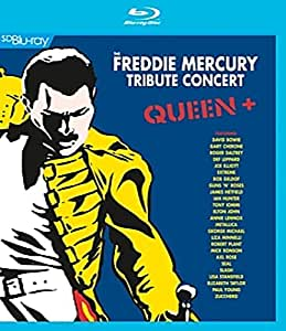 Queen + - Freddie Mercury Tribute Concert [Blu-ray]