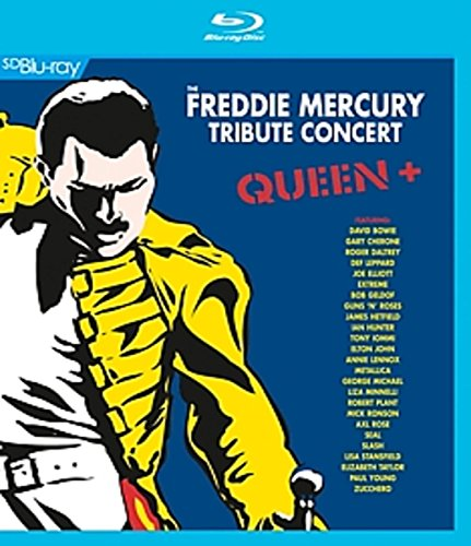 Queen + – Freddie Mercury Tribute Concert [Blu-ray]