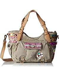 Desigual Bols Rotterdam Military Deluxe Across Body Bag Umhängetasche