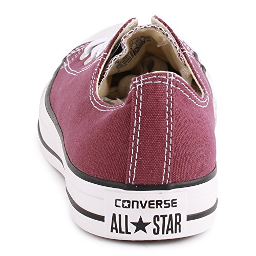 Converse - Chuck Taylor All Star Adulte Seasonal Ox, Sneaker Donna rosso (Weinrot)