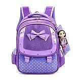 HGDGears Kinder Schulrucksack Mädchen Schultasche für Schule und Freizeit (lila)