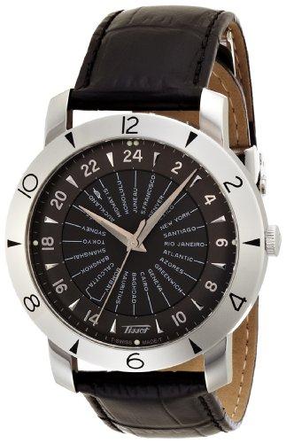 RADO - Montre Homme Tissot Heritage Navigator 160e Anniversary Automatique T0786411605700 Bracelet En Cuir Noir - T0786411605700