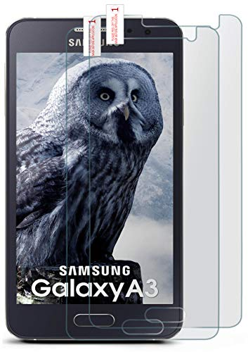 2x OneFlow Cristal extrafuerte antirreflejos Samsung