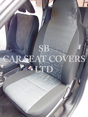 to fit a Saab 93coprisedili auto, grigio, retro in tessuto, 2front