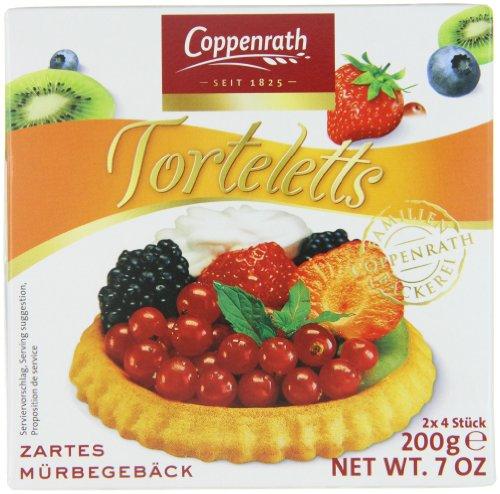 Coppenrath zarte Mürbetorteletts, 10er Pack (10 x 200 g) Test