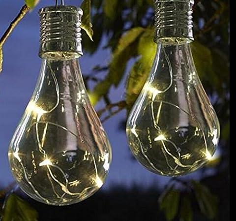 Solarleuchten Garten LED ABS+PVC Energieeffiziente Umweltfreundliche Wasserdicht für Außen / Landscape / Outdoor Zaun Hängende Stimmungslampe Lights Festive (IP65)