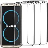 ebestStar - Film protection Samsung Galaxy S8 - pack x3 Films protection 3D PET INTEGRAL couvrant la totalité de l'écran [PAS EN VERRE TREMPE] [Dimensions PRECISES de votre appareil : 148.9 x 68.1 x 8 mm, écran 5.8'']