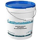 Mortero Acrílico con Áridos de altas prestaciones - 6 Kgs, Gris Cemento