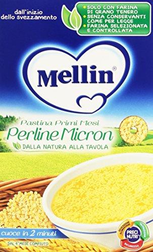 Mellin Perline Micron Pastina Primi Mesi Alimento per lInfanzia 350 g