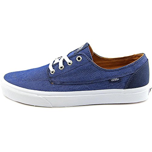 Vans  U BRIGATA, Sneakers Basses adulte mixte Bleu - (c&c) dress blues/true wh