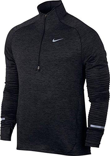 Nike Element Sphere Hz–Top a maniche lunghe per uomo Nero/Htr/Antracite