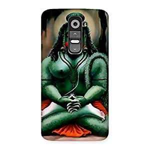 Premium Jai Hanuman Multicolor Back Case Cover for LG G2